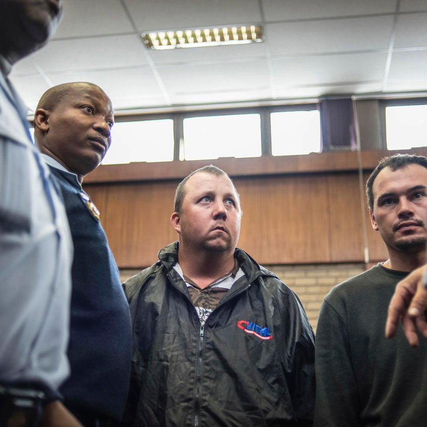 Two White South Africans Arrested After Forcing Black Man Into Coffin