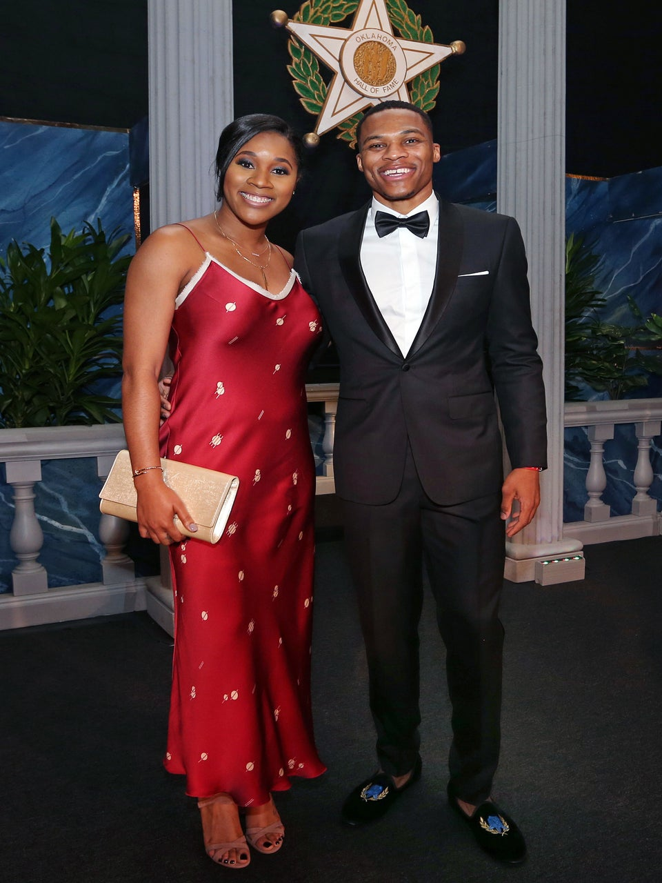 Russell Westbrook Gets Major Support From Wife Nina On His Hall Of Fame Night