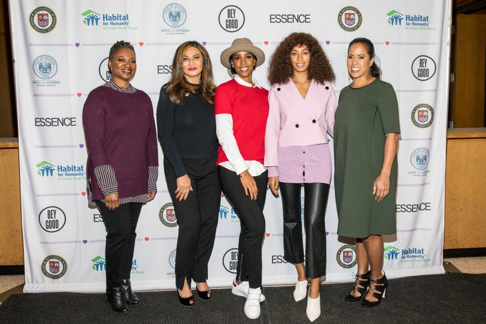 Tina Knowles-Lawson, Kelly Rowland and Solange Join ESSENCE In Honoring The Hometown Heroes of Baton Rouge's Historic Floods