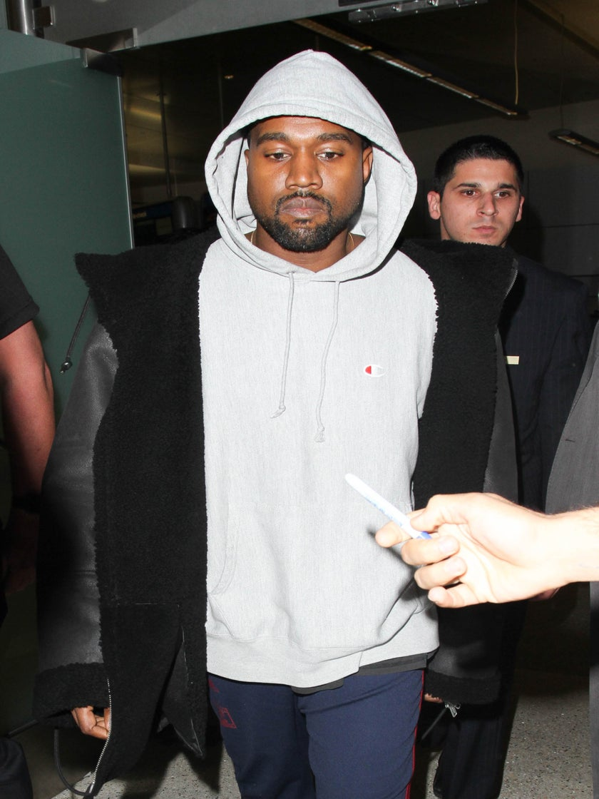 Kanye West Hospitalized After Cancelling Tour