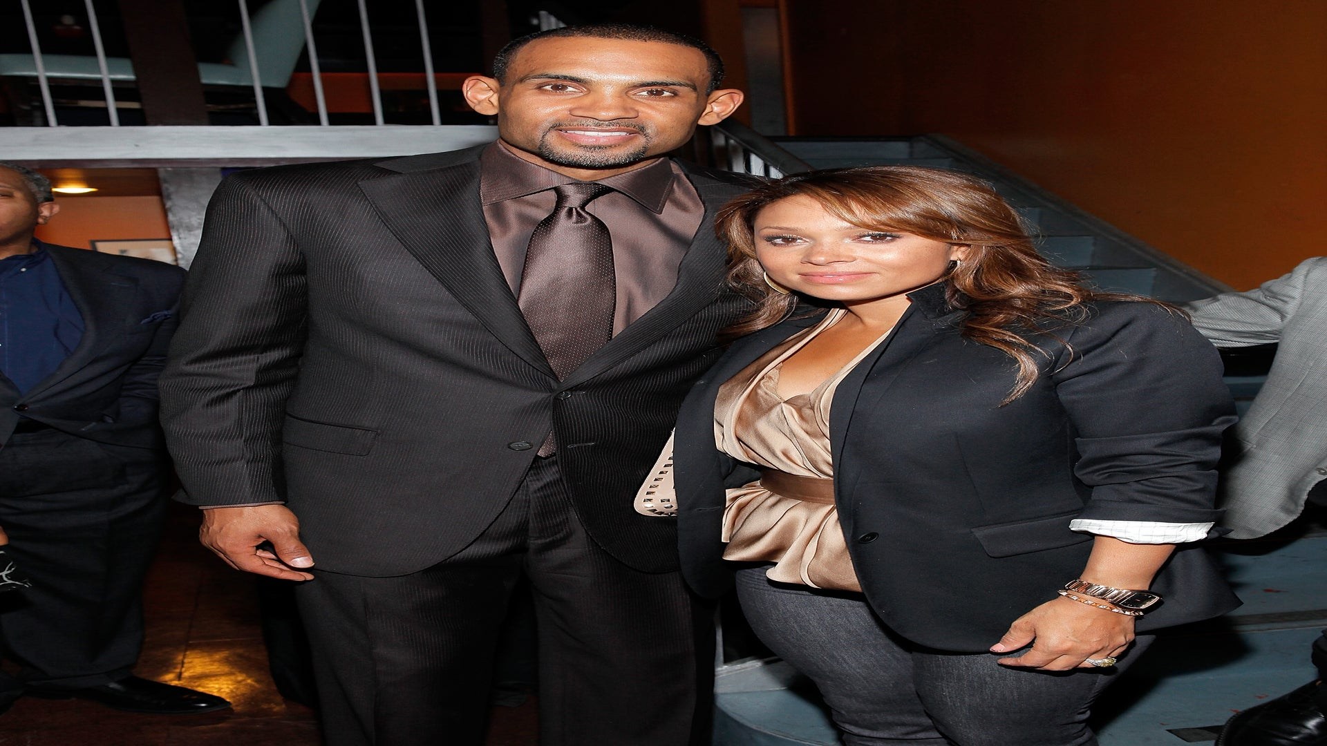 Tamia Supports Grant Hill As A Guest On NBA TV's 'Inside Stuff'