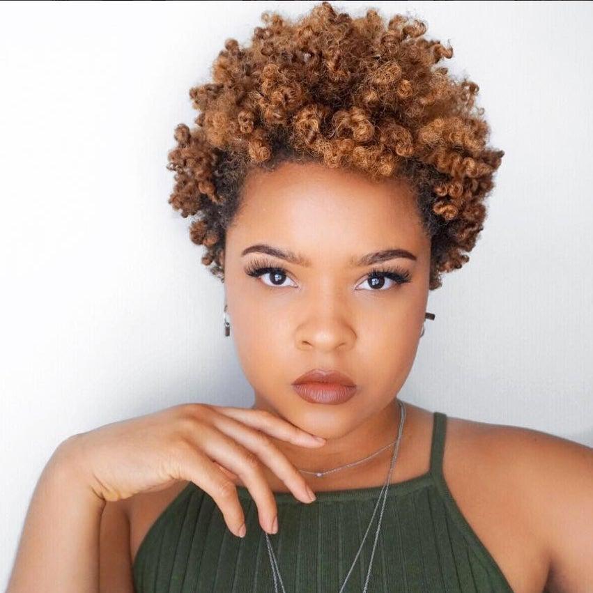 beautiful black women with 4c hair  essence