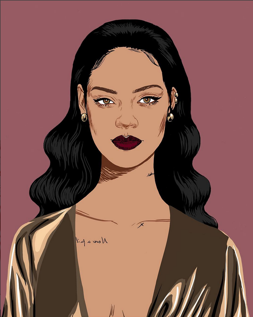 Animated Rihanna Wants You to Upgrade Your Sock Game This Season