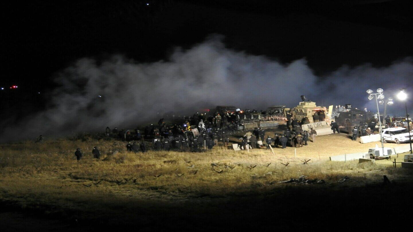 Protester's Arm Nearly 'Blown Off' in Explosion at Dakota Access Pipeline Site