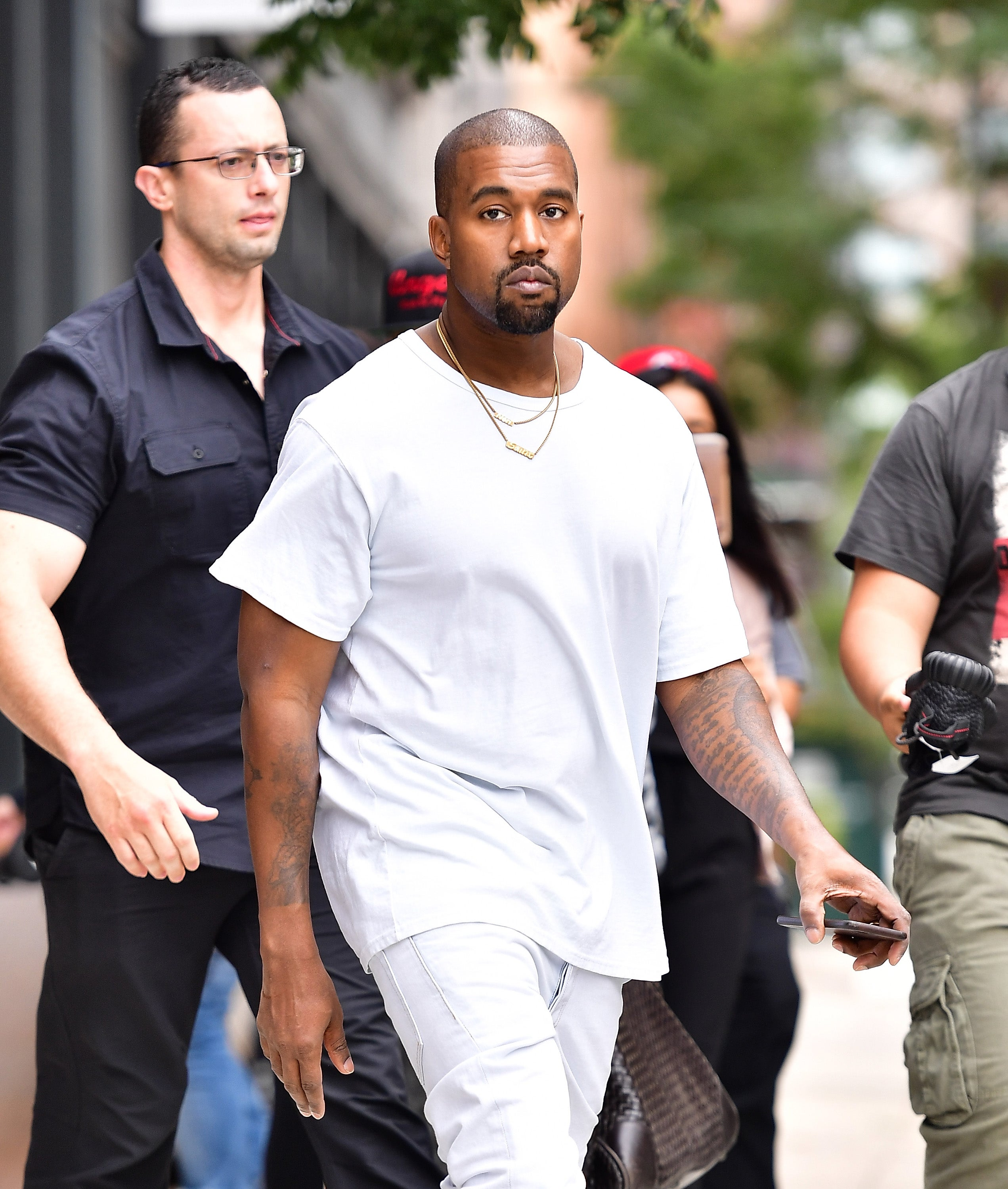 Kanye West released from hospital