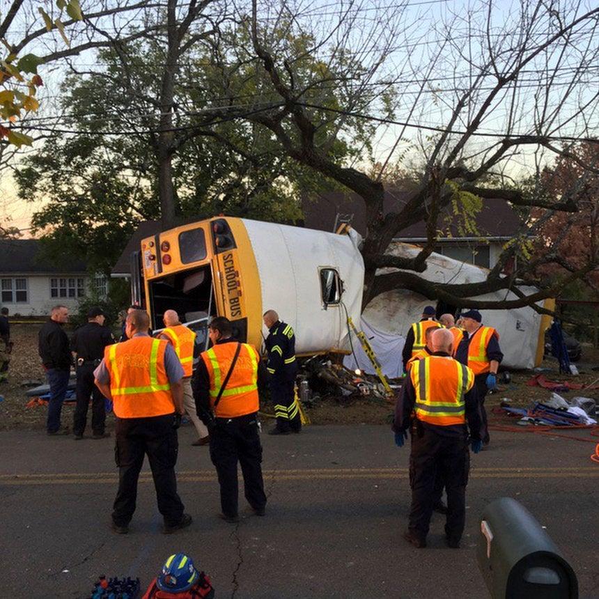 Boy, 8, Barely Survives School Bus Crash That Killed His Big Sister, MomReveals