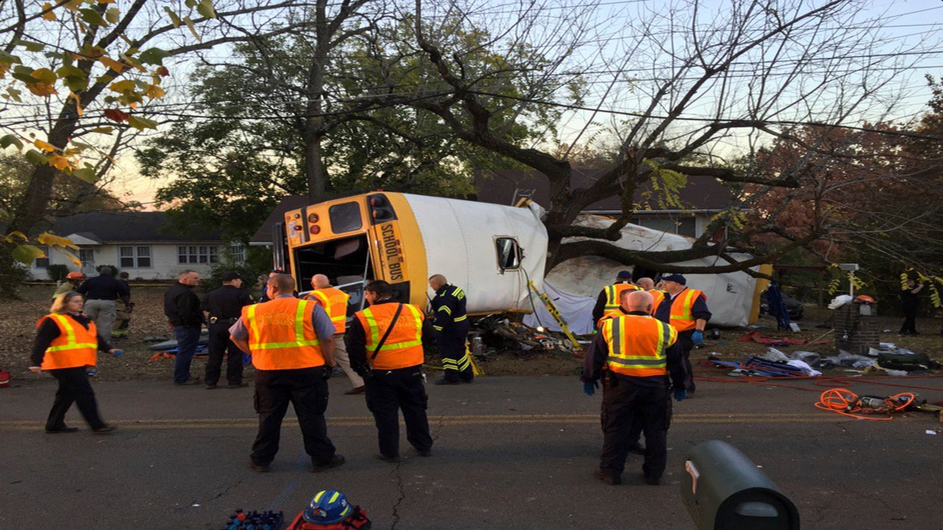 Boy, 8, Barely Survives School Bus Crash That Killed His Big Sister, Mom Reveals