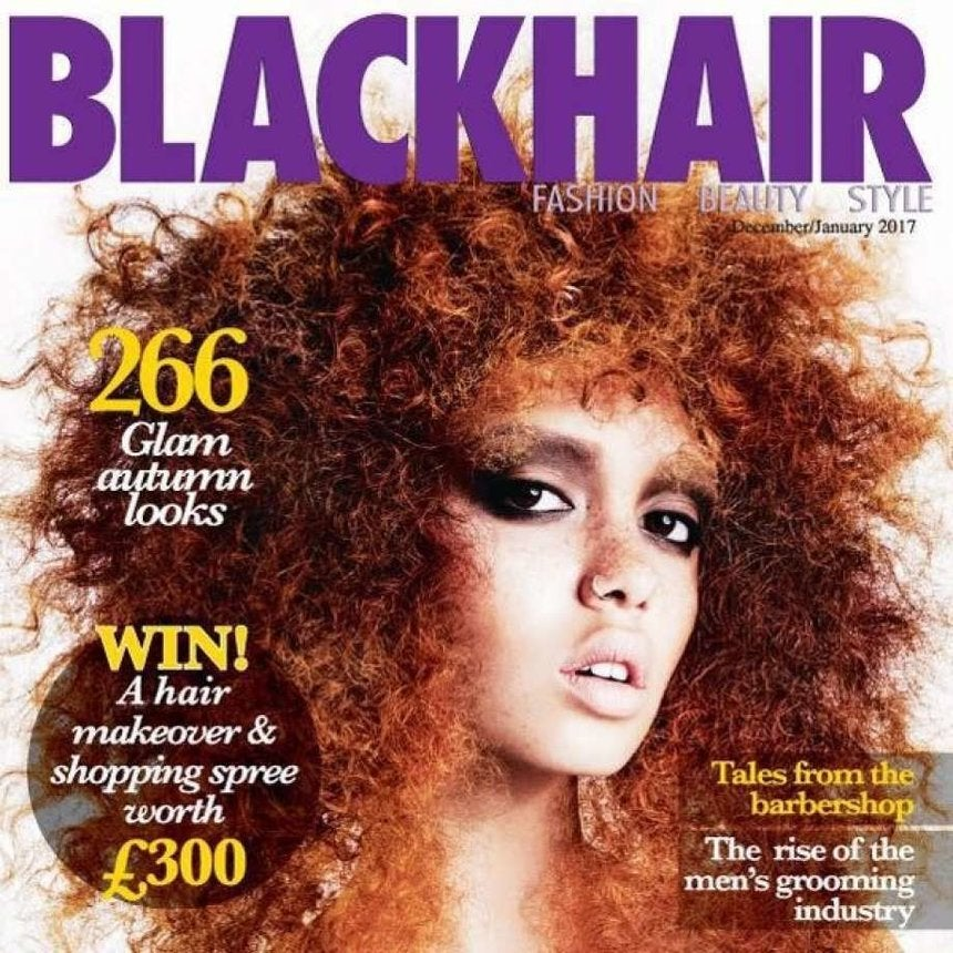 White Model Apologizes For Appearing On Black Hair Magazine Cover