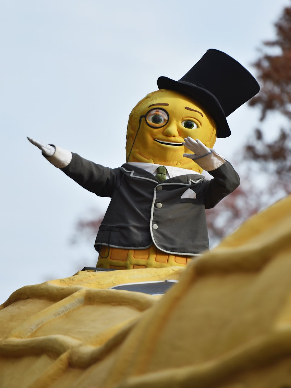 Yes, Mr. Peanut Dabbed His Way Through The Macy's Thanksgiving Day Parade
