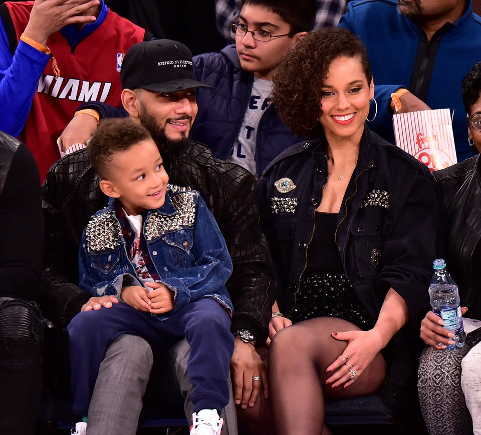 Swizz Beatz And Alicia Keys' Son Egypt Plays His First Original Song 'Super-boy'