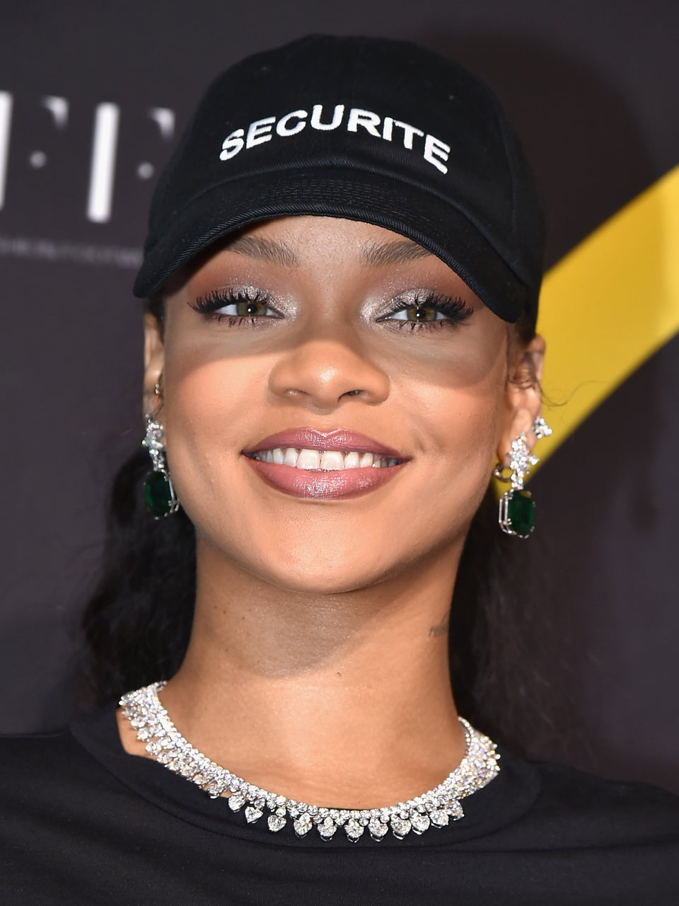 Rihanna Delivers Cool Girl Style While Accepting 'Shoe of the Year' Award