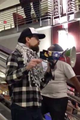Disturbing Video Shows Trump Supporter Push Activist Down The Stairs In Ohio
