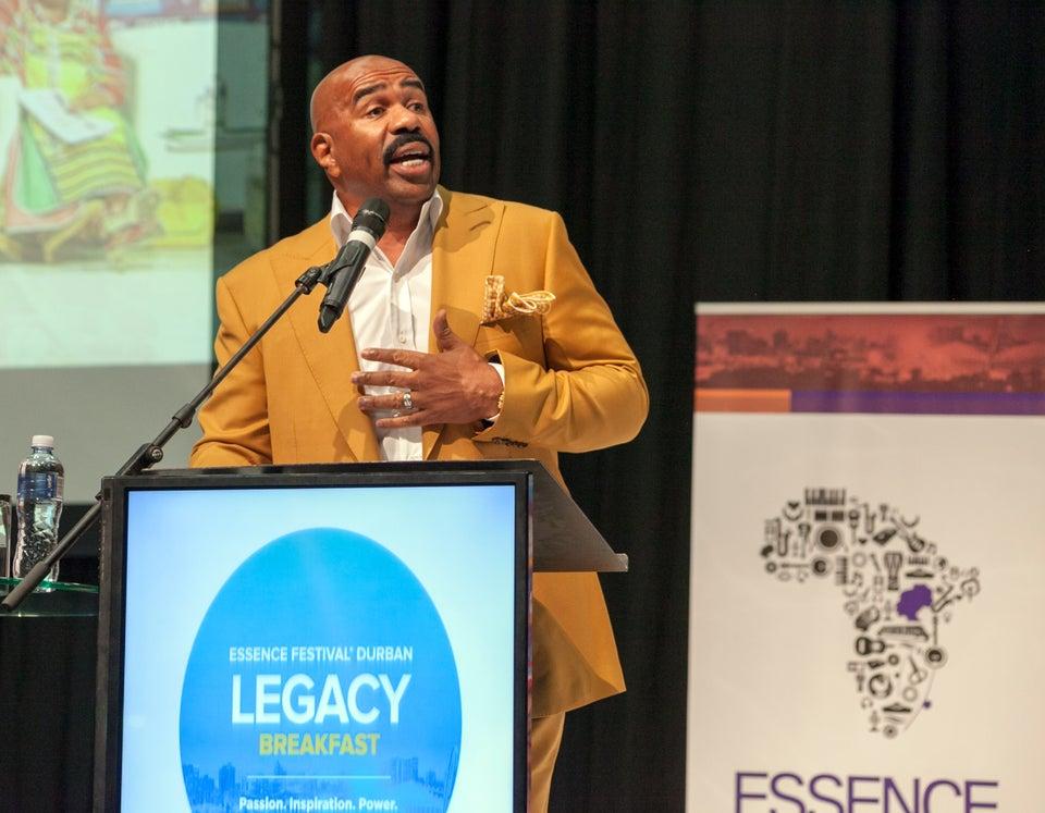6 Major Keys to Success Learned from Steve Harvey's Essence Festival Durban Keynote Address