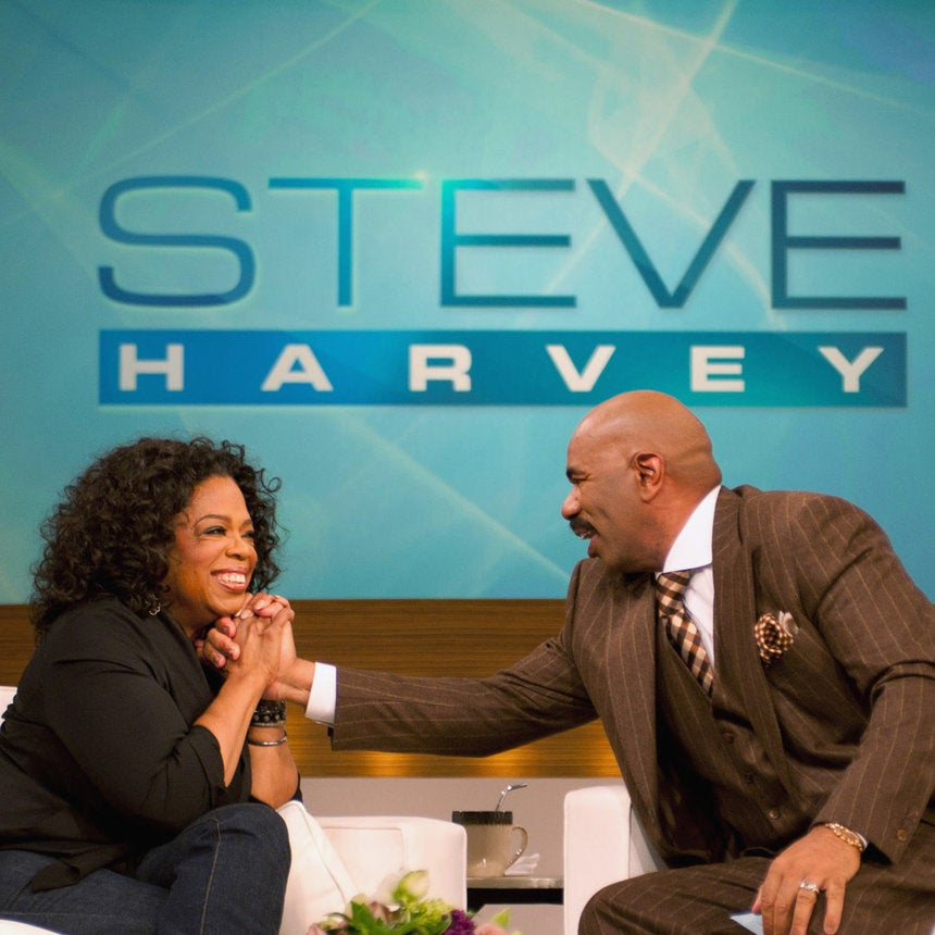 Oprah Sits Down With Steve Harvey