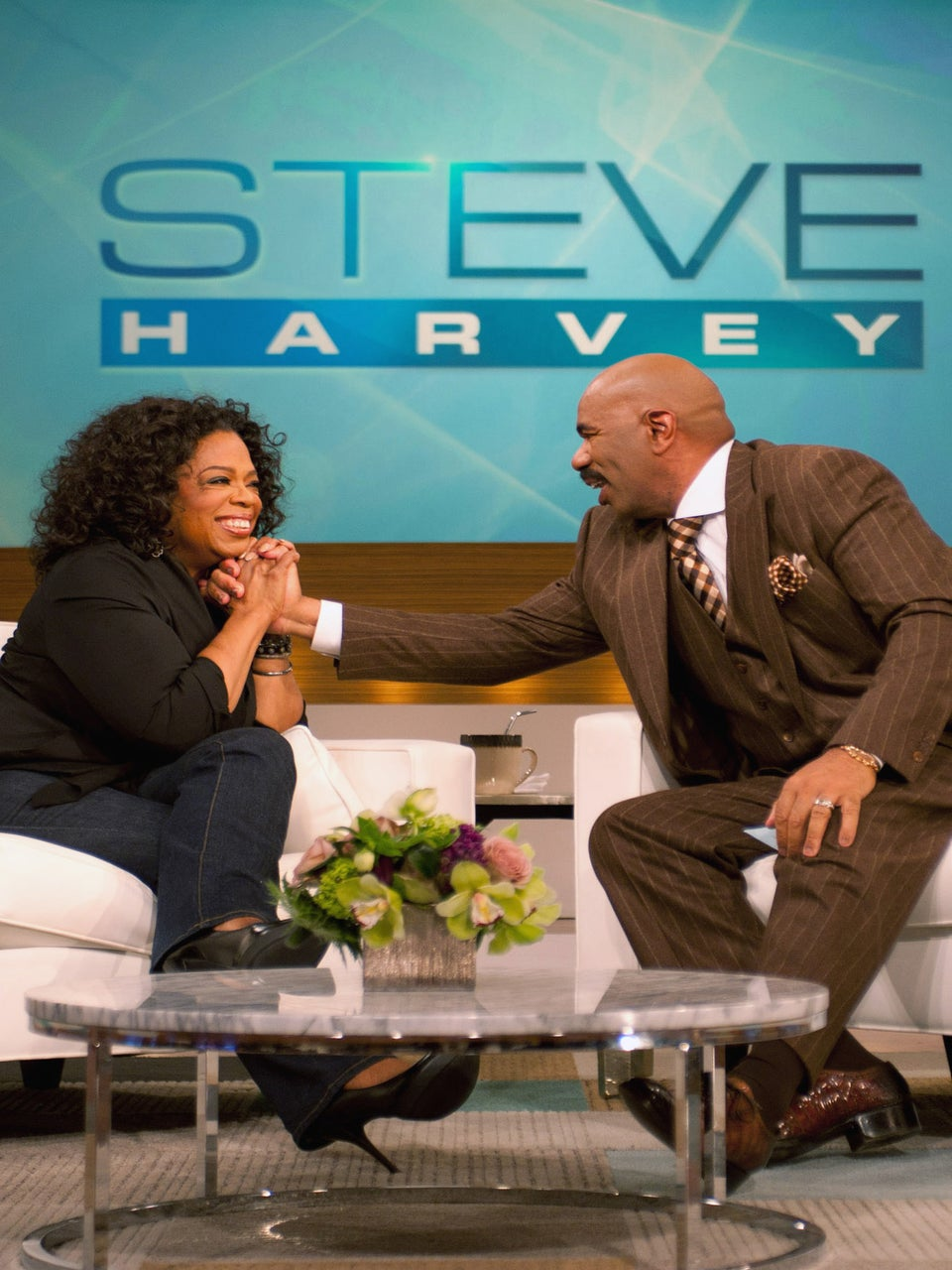 Oprah Sits Down With Steve Harvey