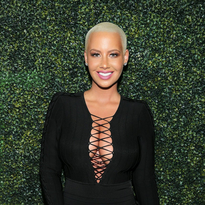 Amber Rose Faces Backlash for Treating Her Son to a Manicure