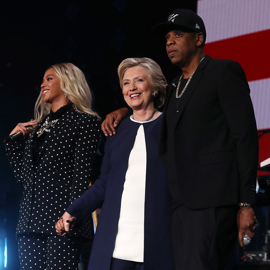 Beyonce And Jay Z Officially Endorse Hillary Clinton For President At Star-Studded Ohio Concert