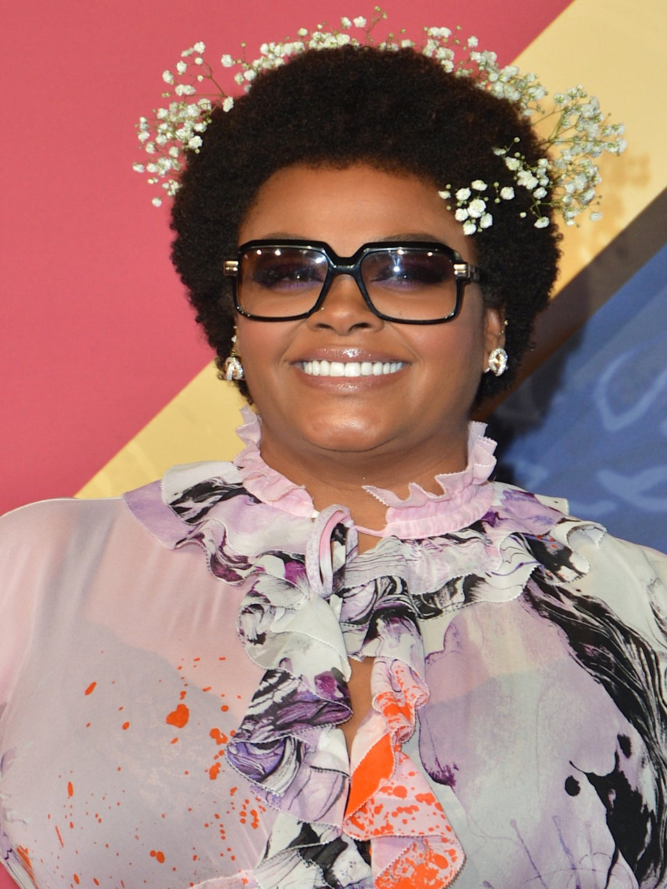 How to Wear Flowers In Your Hair, According To Jill Scott