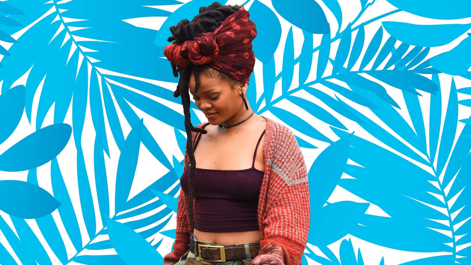 Rihanna Makes a Basic Hair Accessory Look Luxe on the Set of 'Ocean's 8'