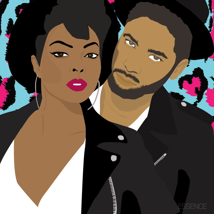 Taraji P. Henson and Jussie Smollett Team Up for M.A.C's VIVA GLAM 2016 Campaign