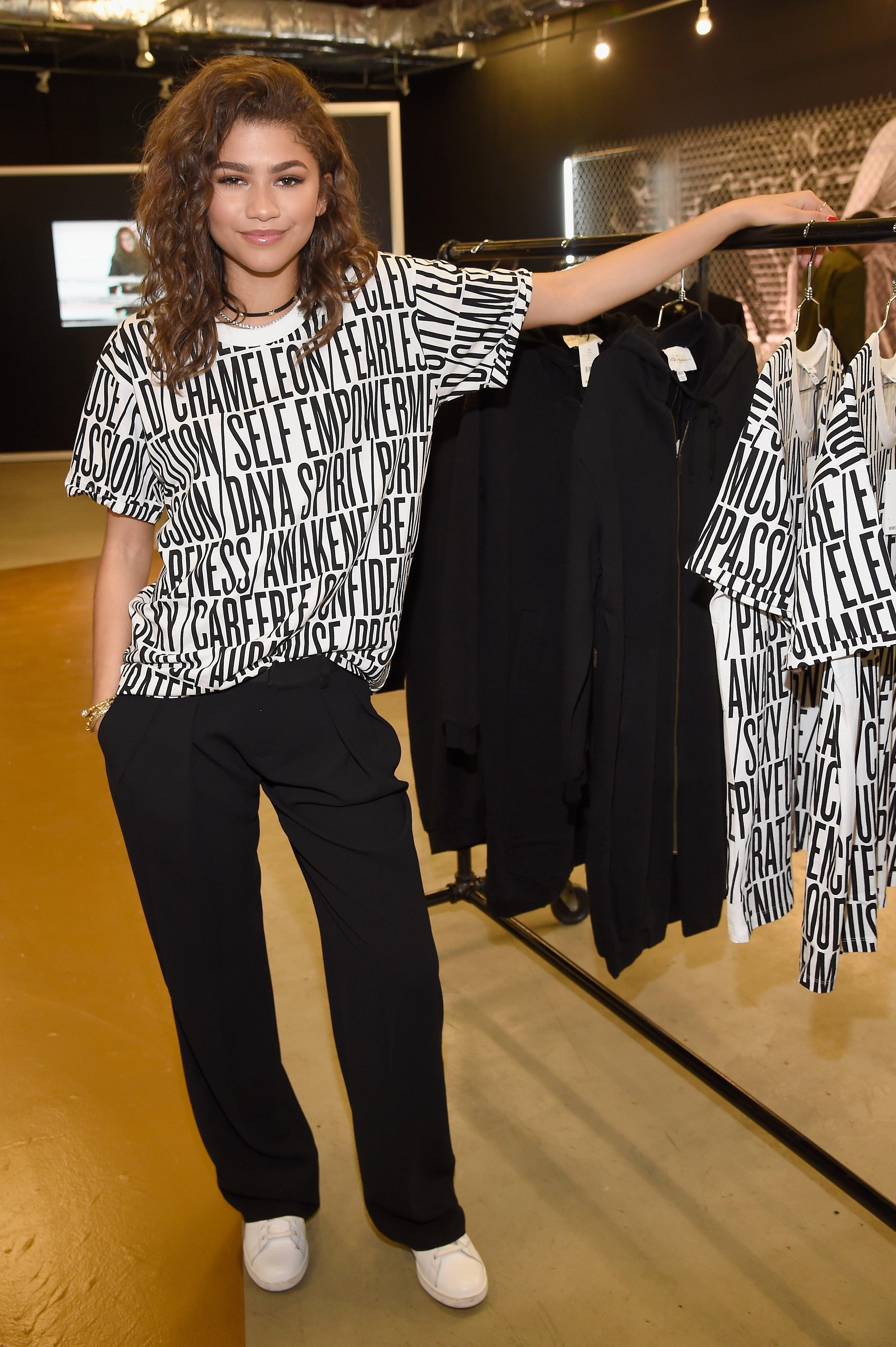 zendaya debuts dayazendaya clothing line  essence