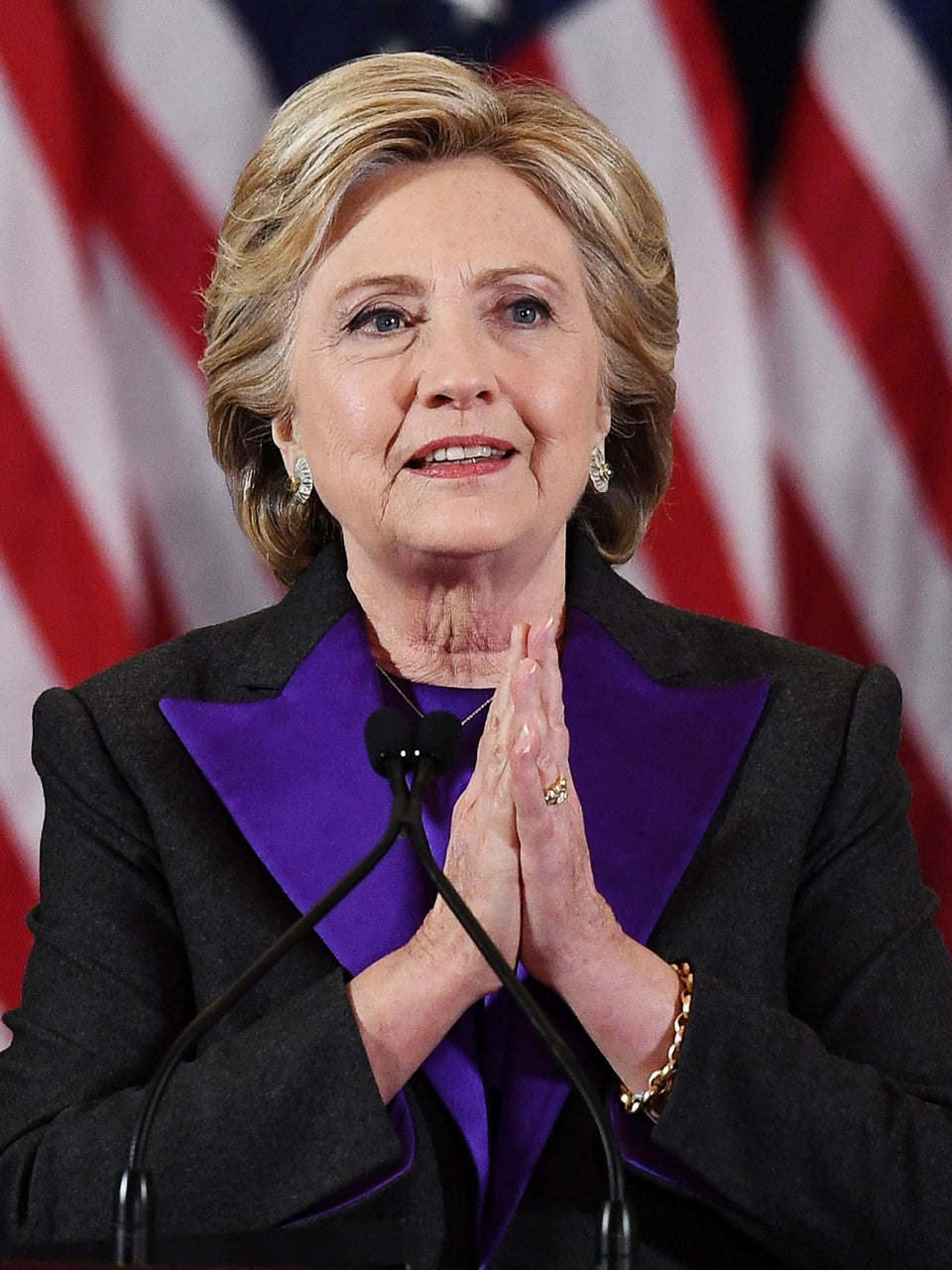 Hillary Clinton Says She's Back: 'I Will Never Stop Speaking Out'