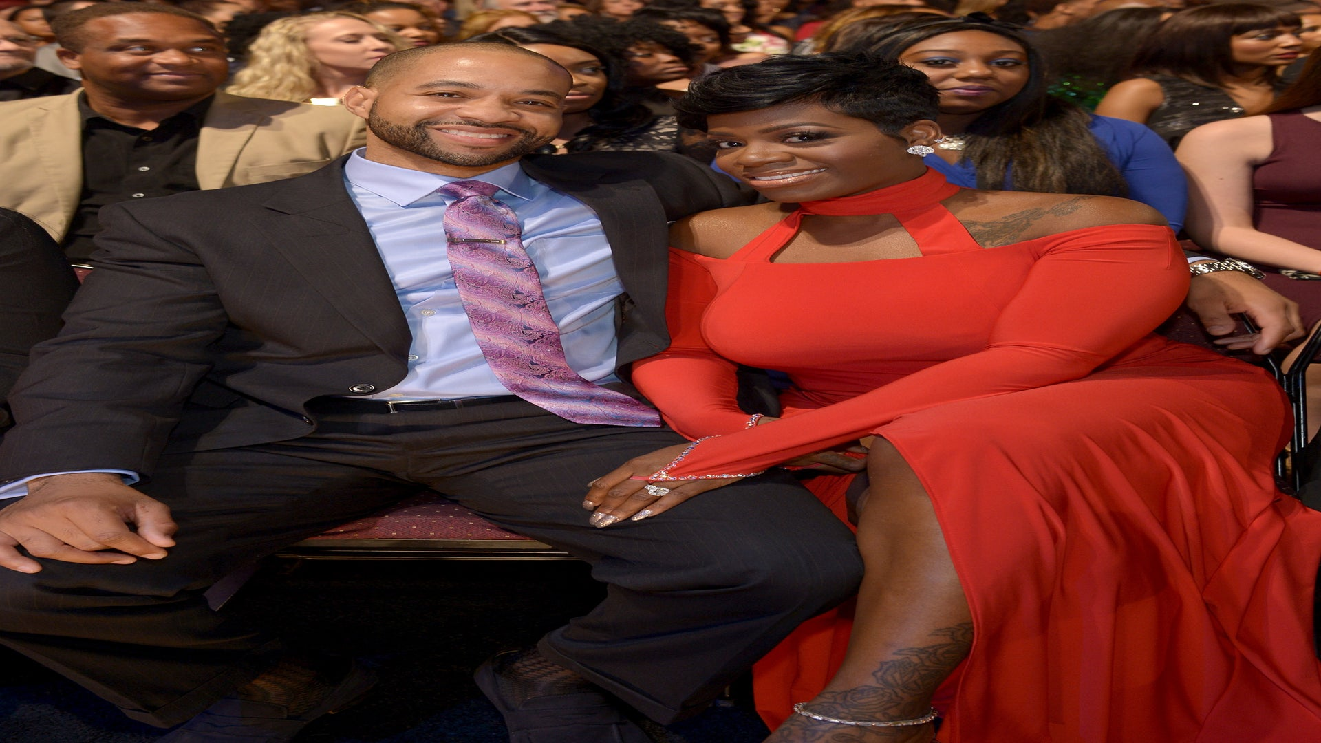 Aww! Fantasia and Her Husband Got Married Again On Christmas Day