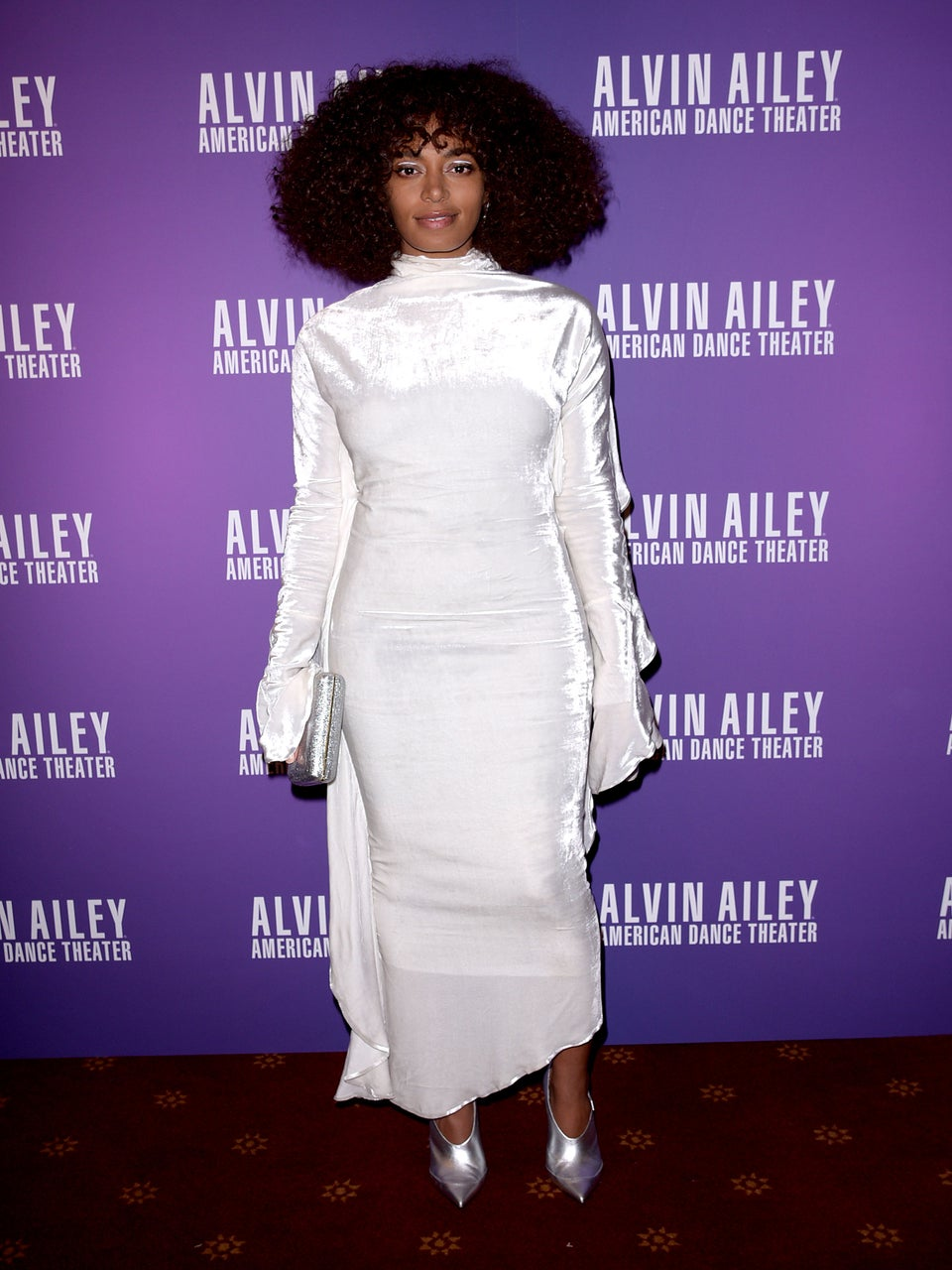 Look of the Day: Solange's Epic Style Dominates Red Carpet, Yet Again