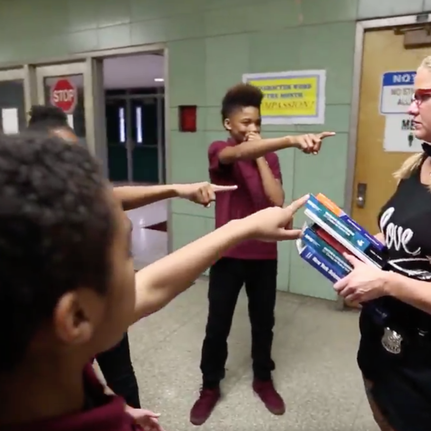 NYPD And Brooklyn Public School Students Use #MannequinChallenge To Tackle Bullying