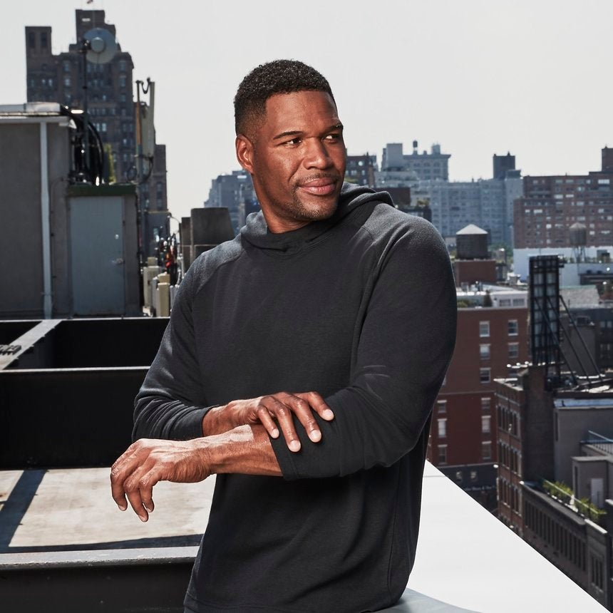 Michael Strahan Dishes on His New Menswear Collections