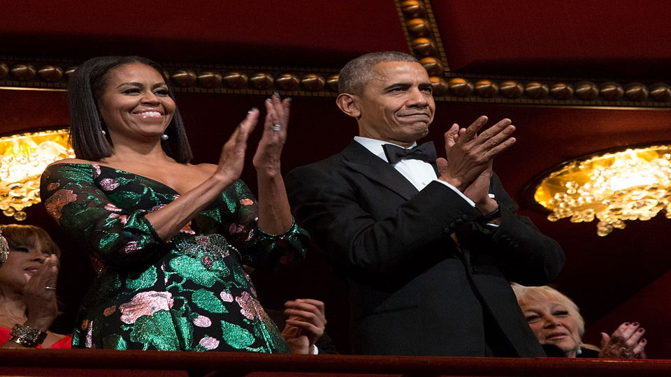 Obamas Receive Standing Ovation At Their Final Kennedy Center Honors