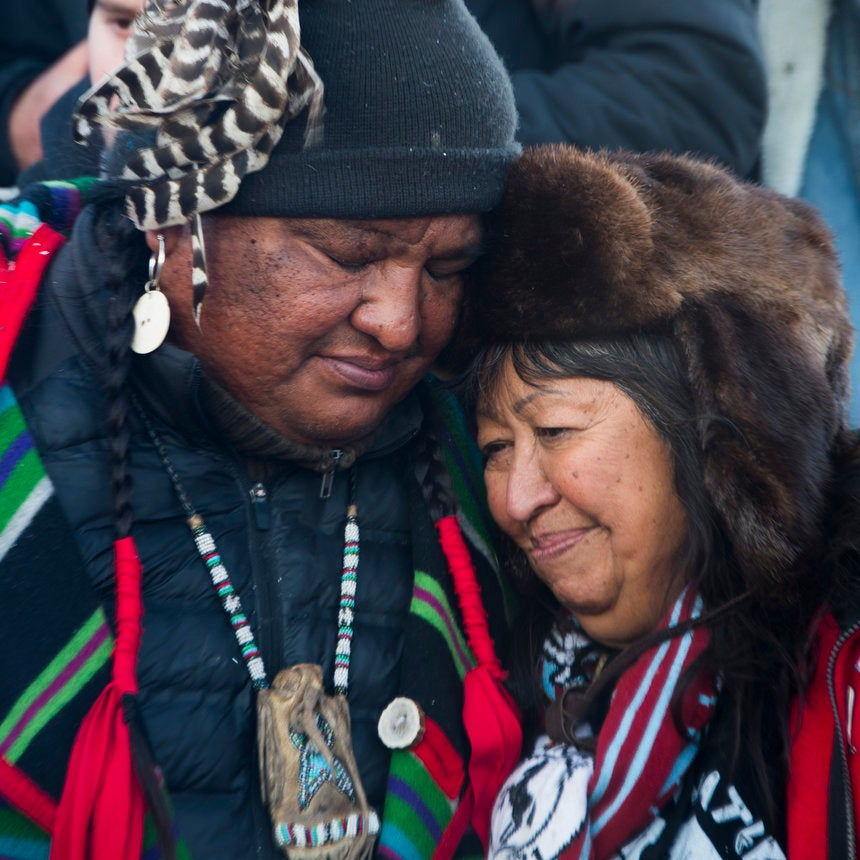 Victory At Standing Rock: 17 Inspiring Photos Of Protesters Celebrating The Dakota Pipeline Halt