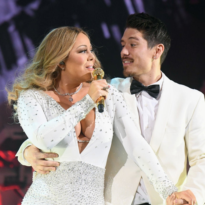 Mariah Carey Gets Close With New Love Bryan Tanaka On Stage During N.Y.C Performance