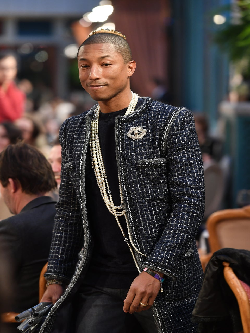 Pharrell Hits the Runway for Chanel