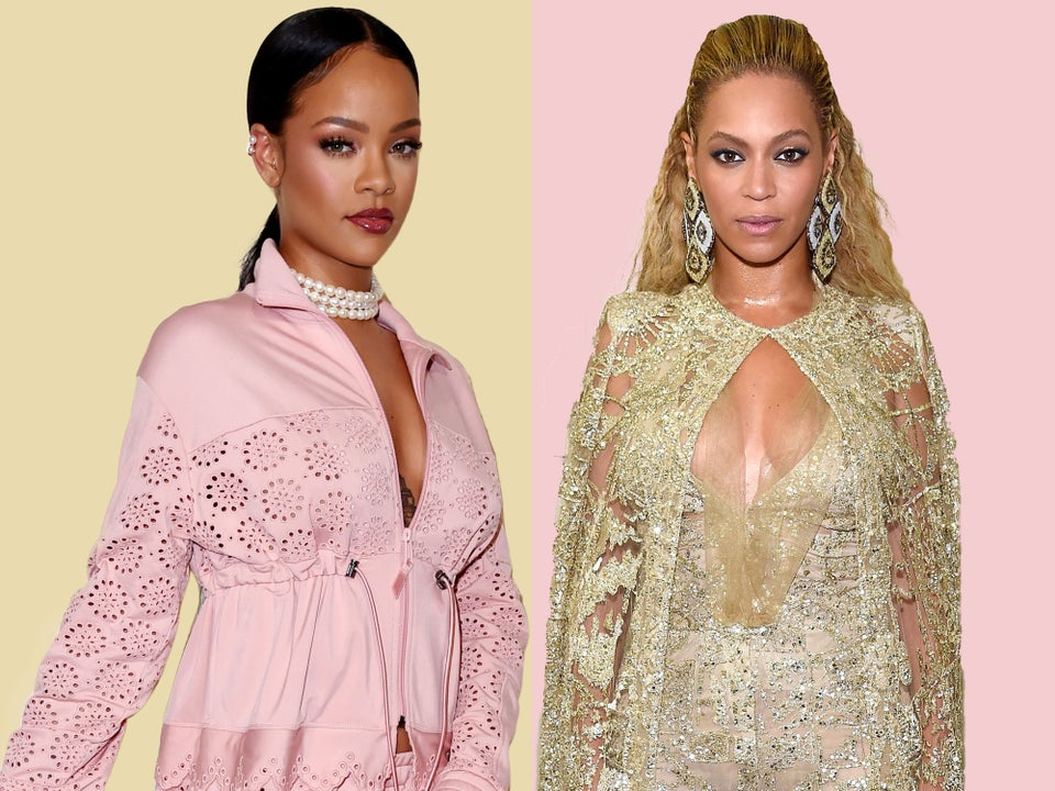 A Simple 'Like' Started A War Between The BeyHive And Rihanna Navy