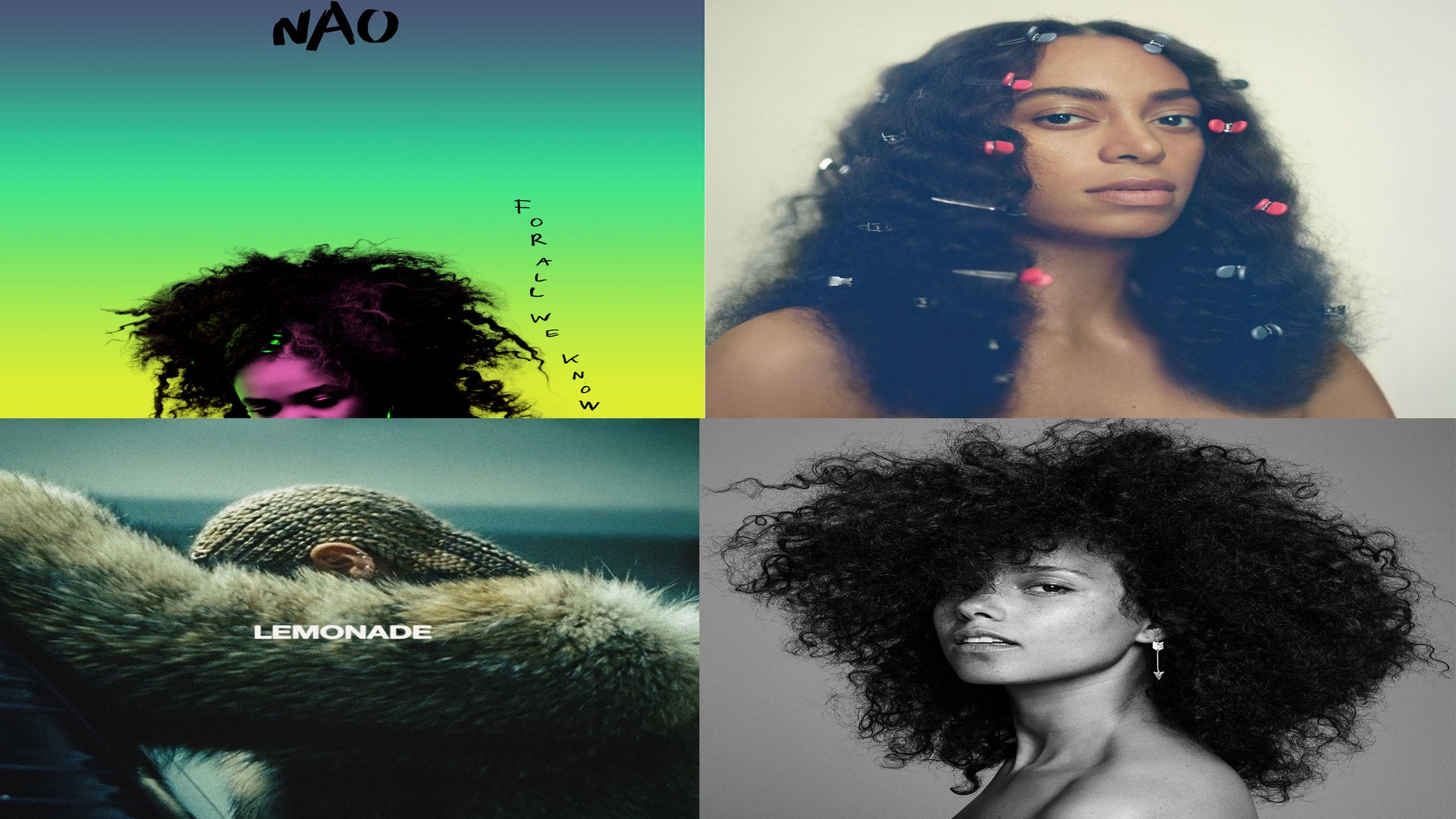 The 2016 Album Covers That Made Us Love Our Hair