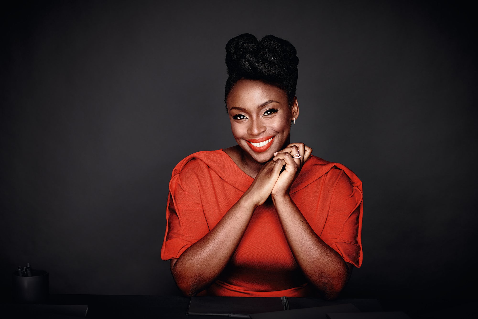 Chimamanda Ngozi Adiche Says Makeup and Feminism Aren't Mutually Exclusive: 'I Don't Need to Intellectualize My Interest'