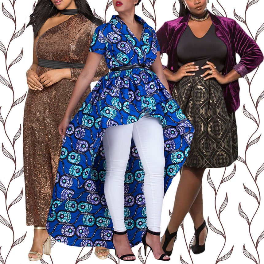 10 Looks Perfect for Curvy Women This Holiday Party Season