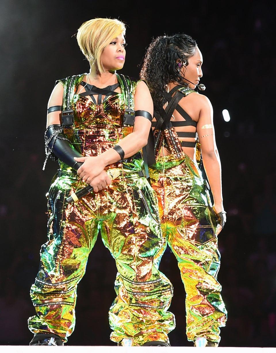 Check Out A Sneak Peek Of TLC & Missy Elliott Performing During 'Taraji's White Hot Holidays'