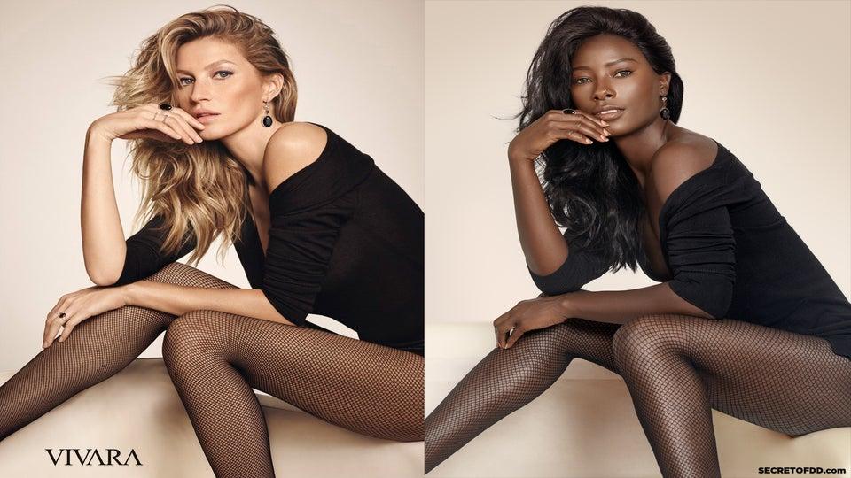 Beautiful Black Model Recreates Ads Starring White Models and Kills It!