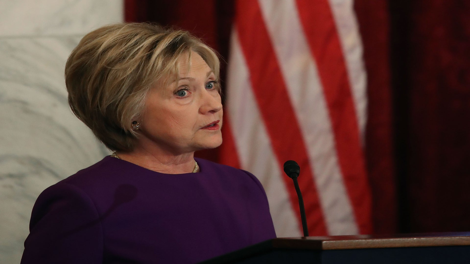 'Lives Are at Risk.' Hillary Clinton Warns Against Fake News