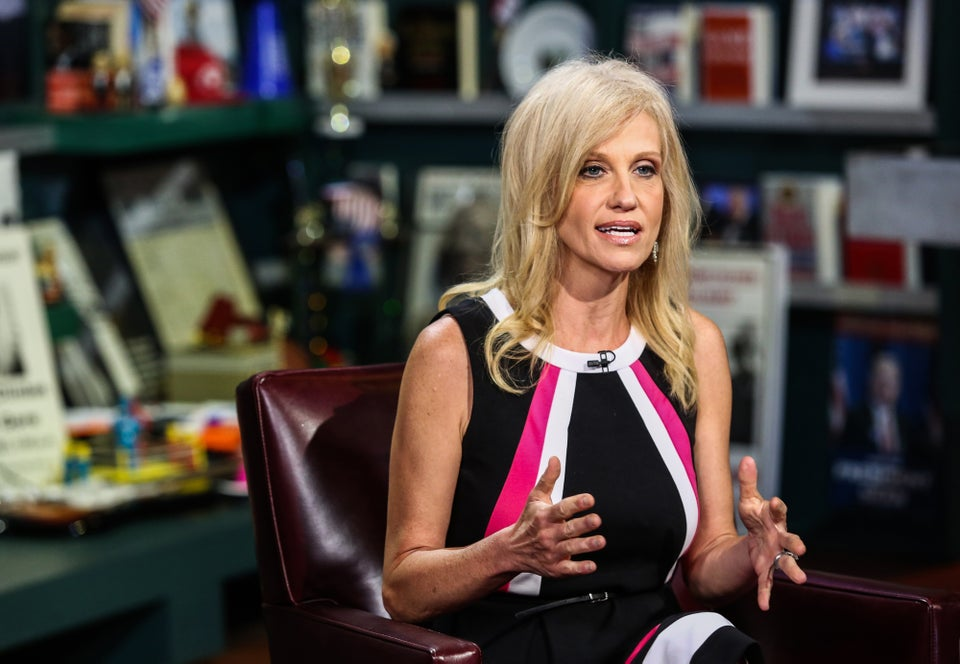 Kellyanne Conway Defends White House's Falsehoods as 'Alternative Facts'