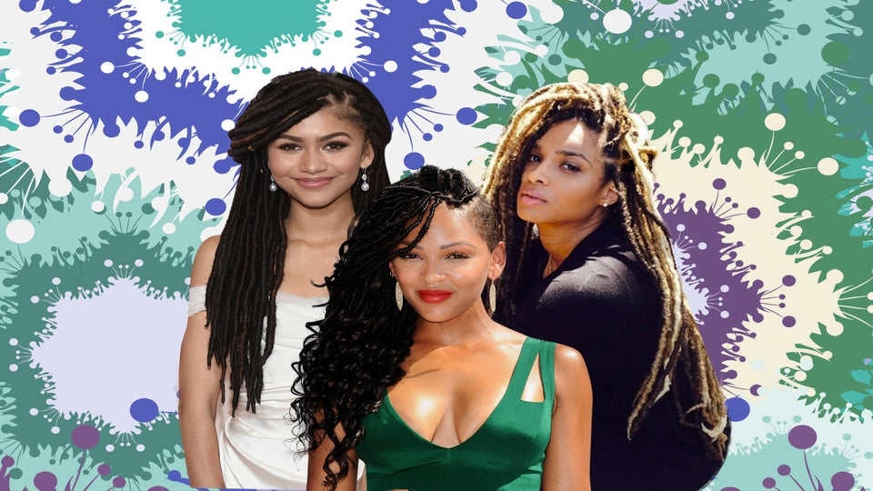 Celebrities With Faux Locs