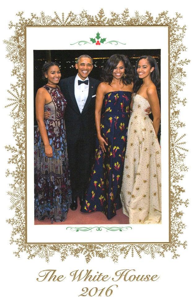 2019 White House Christmas Card.Obama S First Christmas Card Essence