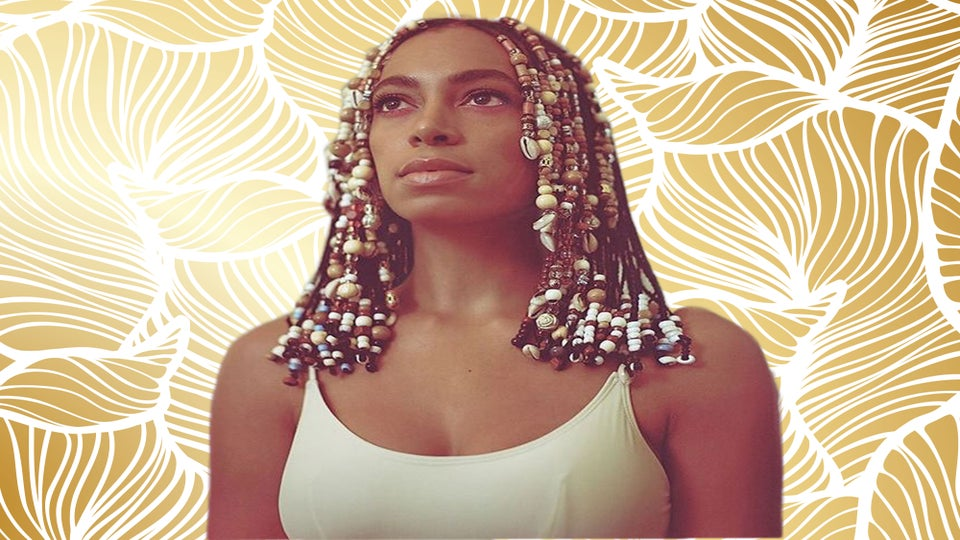 15 Amazing Solange-Inspired Beaded Hairstyles You Have To See From Instagram