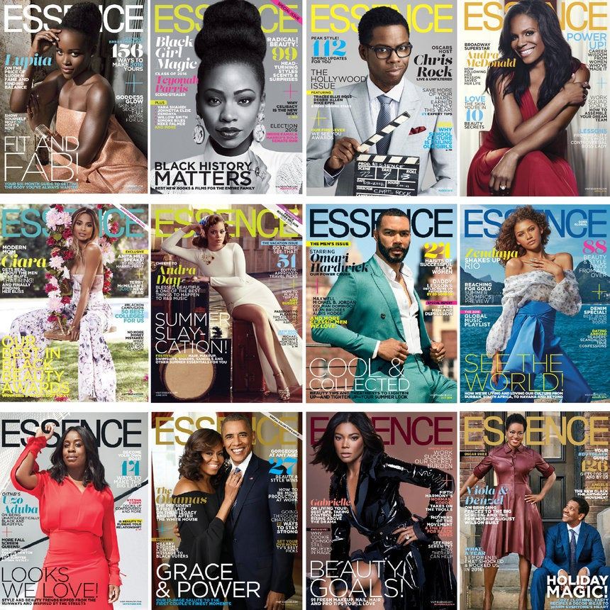 Black Excellence: A Year Of ESSENCE Covers In 2016