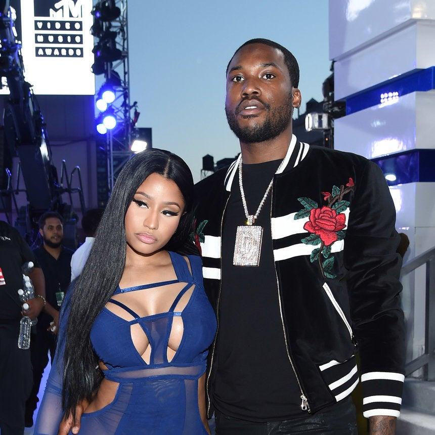 Is There Trouble In Paradise Between Nicki Minaj And Boyfriend Meek Mill?