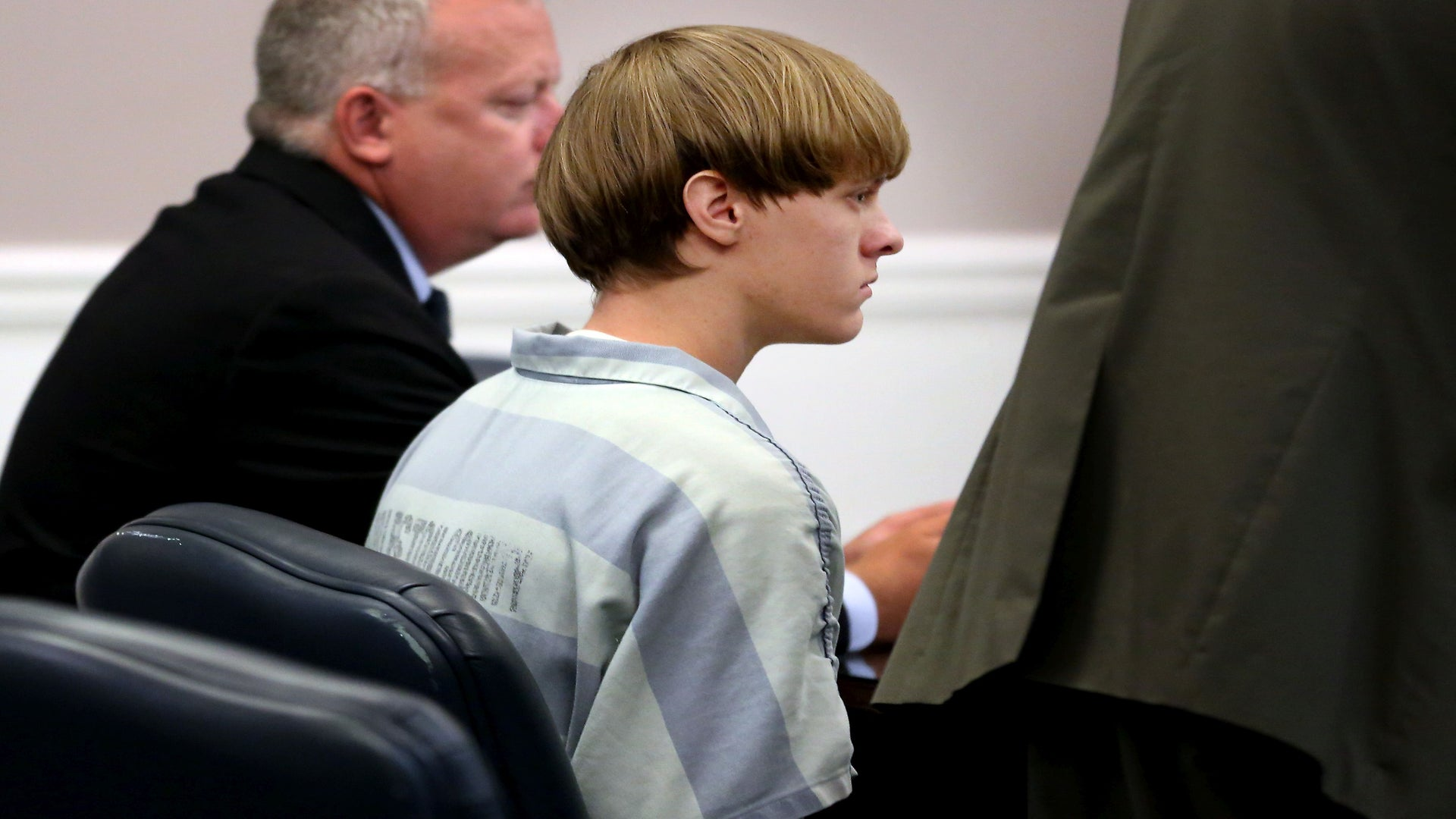 Dylann Roof Is Wearing Shoes With Racist Symbols Drawn On Them
