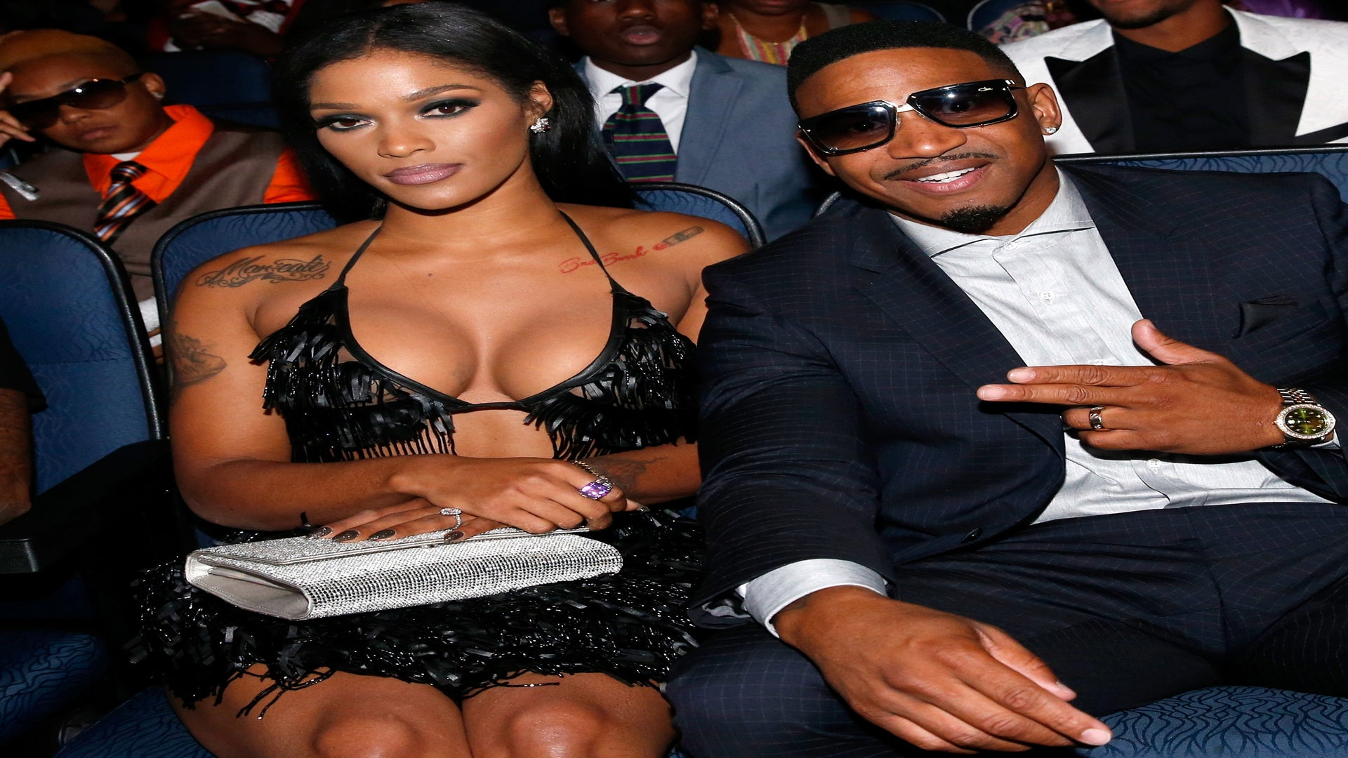 She's Here! Stevie J Shares First Photo Of Baby Bonnie Bella With 'Love & Hip Hop' Star Joseline Hernandez