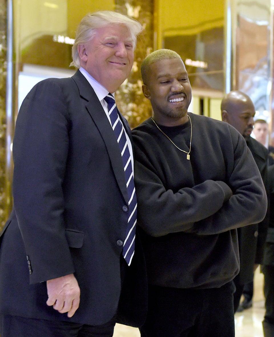 Kanye Deletes Trump Tweets